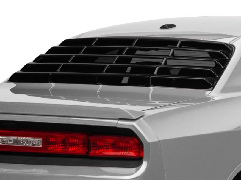 MP Concepts Rear Window Louvers - Gloss Black (08-20 All)