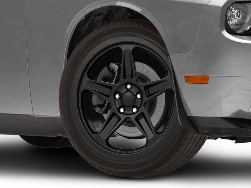 SRT Demon Style Satin Black Wheel; 20x9.5 (08-20 All, Excluding AWD & Demon)