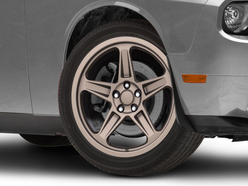 SRT Demon Style Bronze Wheel; 20x9.5 (08-20 All, Excluding AWD & Demon)