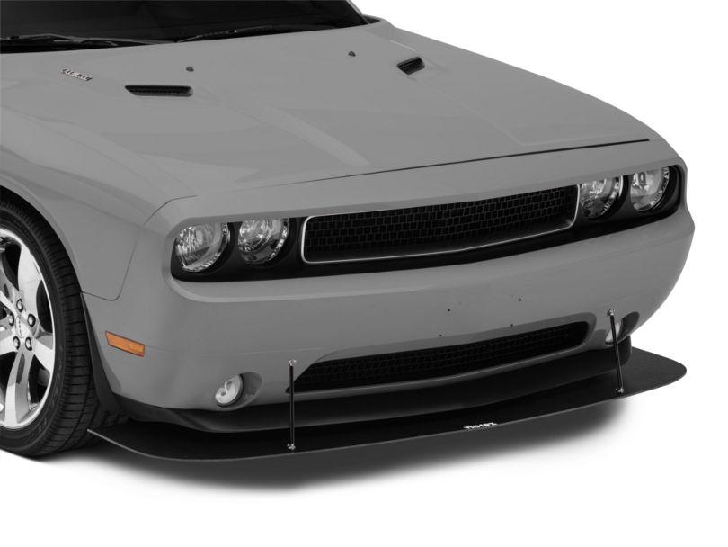 VZ Style Front Chin Splitter - Textured Black (08-14 All)