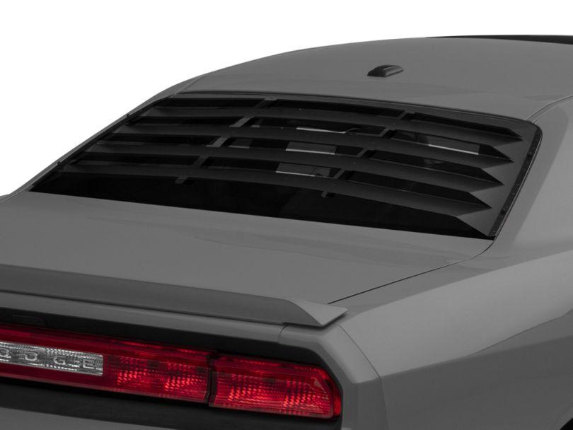 Rear Window Louvers; Aluminum (08-20 All)