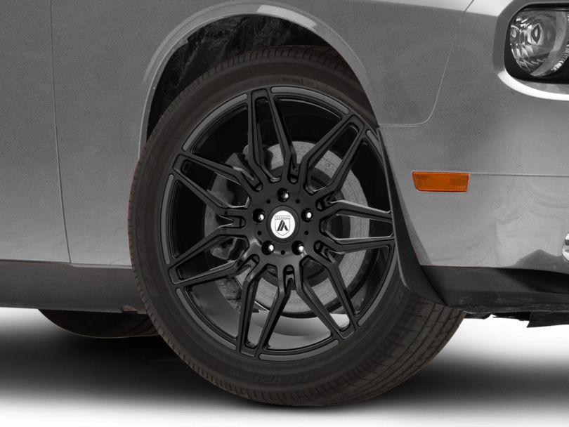 Asanti Sirius Gloss Black Wheel; 20x9 (08-20 All, Excluding Demon & Hellcat)