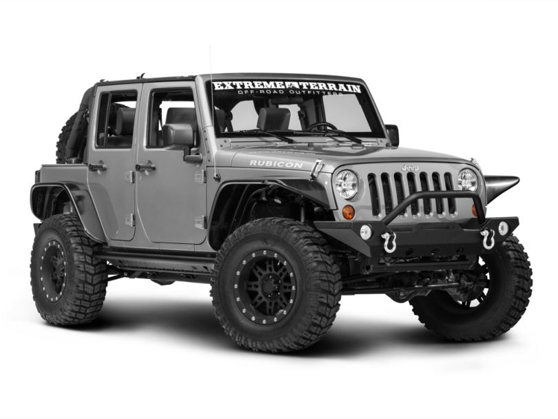 TJM Rock Sliders Bars (07-18 Jeep Wrangler JK 4 Door)