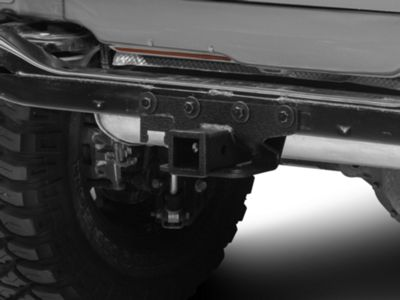 RedRock 4x4 Hitch - Textured Black (07-18 Jeep Wrangler JK)