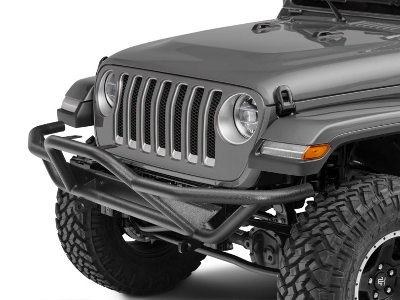 RedRock 4x4 Rock Crawler Front Grille Guard - Textured Black (18-20 Jeep Wrangler JL)