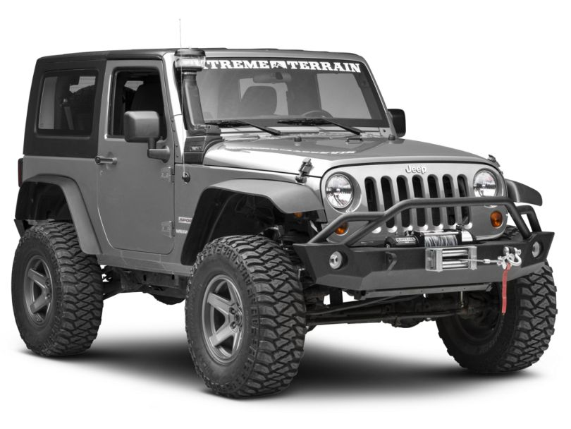 Rugged Ridge XHD Snorkel with Pre-Filter (07-18 3.6L or 3.8L Jeep Wrangler JK)
