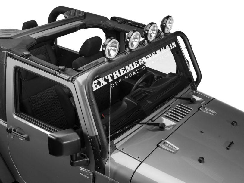 Barricade Windshield Light Mount (07-18 Jeep Wrangler JK)
