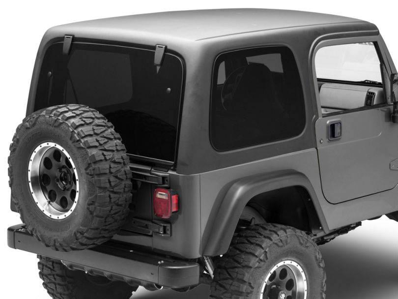 One Piece Hardtop for Full Doors (97-06 Jeep Wrangler TJ, Excluding Unlimited)