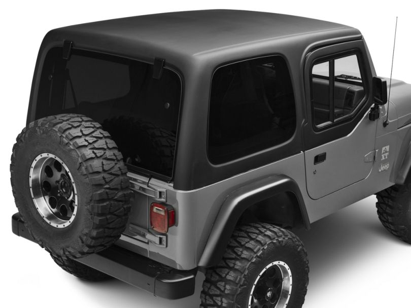 One Piece Hardtop for Half Doors (97-06 Jeep Wrangler TJ, Excluding Unlimited)