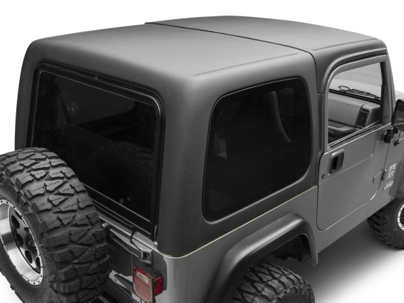 Rally Tops Two Piece Hardtop for Full Doors (97-06 Jeep Wrangler TJ, Excluding Unlimited)