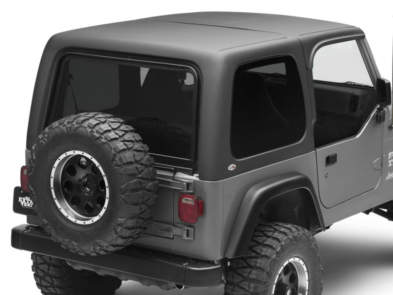 Two Piece Hardtop for Half Doors (97-06 Jeep Wrangler TJ, Excluding Unlimited)