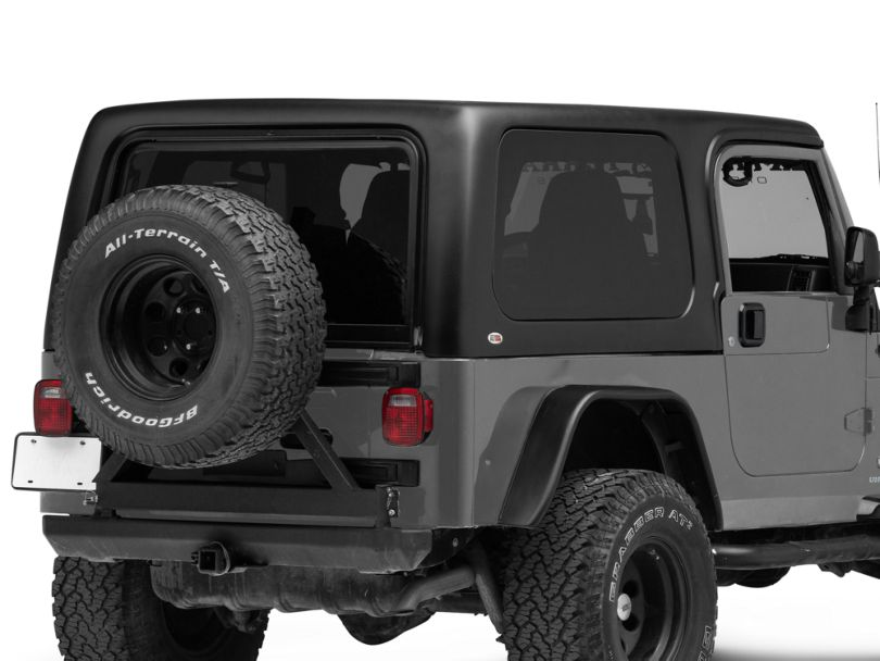 1-Piece Hardtop For Full Doors (04-06 Jeep Wrangler TJ Unlimited)