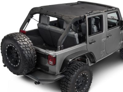 Add Rugged Ridge Full-Length Eclipse Sun Shade (07-17 Wrangler JK 4 Door)