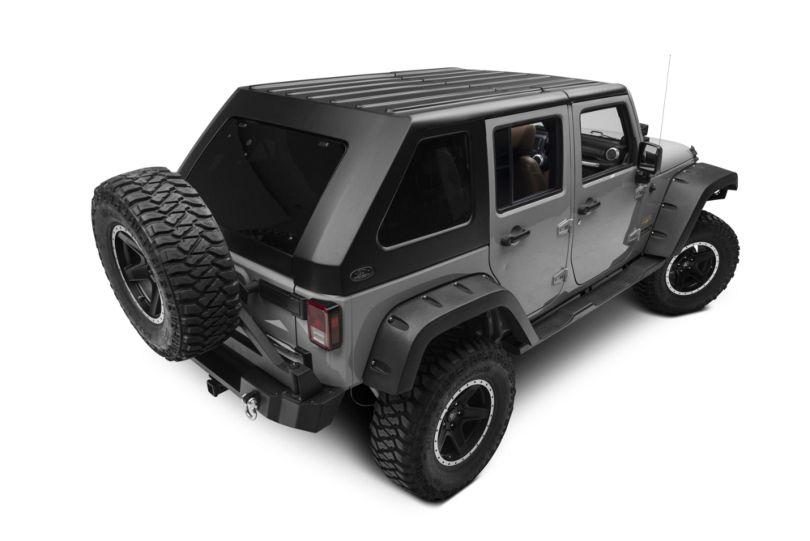 Wild Boar Fastback Targa Top (07-18 Jeep Wrangler JK 4 Door)
