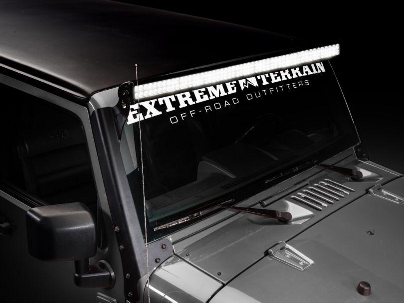 Lifetime LED 50 in. Light Mount (07-18 Jeep Wrangler JK)