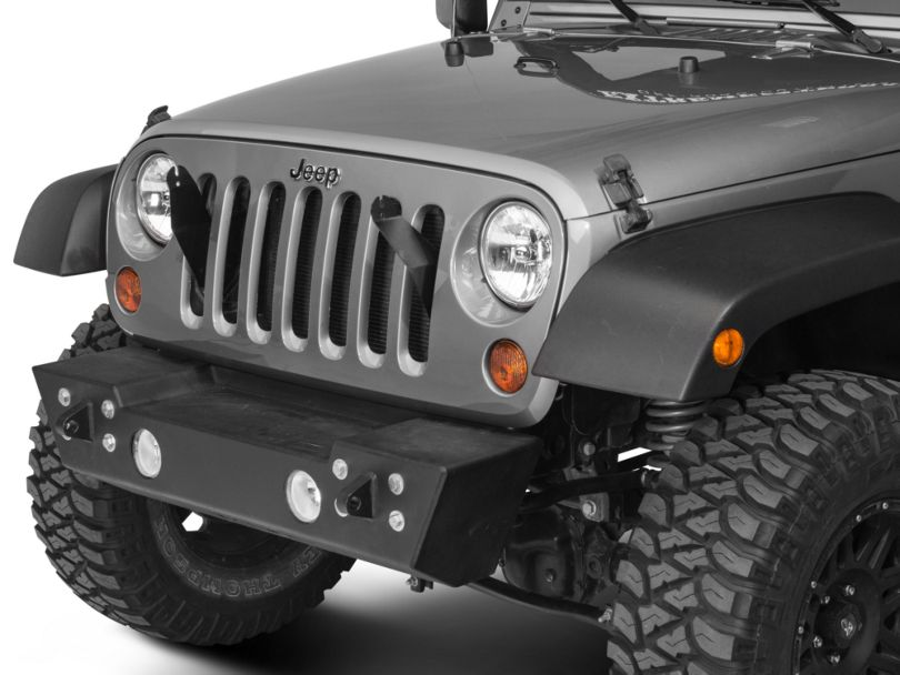 Lifetime LED 21 Inch LED Light Bar Grille Mounting Brackets (07-18 Jeep Wrangler JK)
