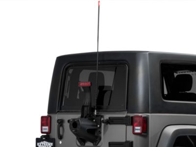 Add Firestik CB Antenna - 4 ft. (87-17 Wrangler YJ, TJ & JK)