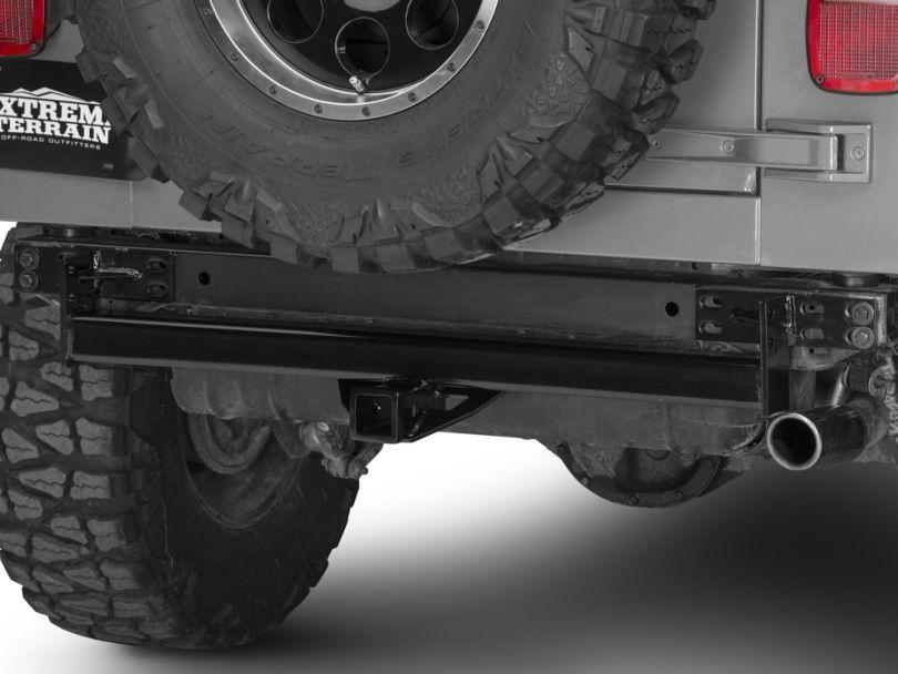 RedRock 4x4 Hitch - Gloss Black (87-06 Jeep Wrangler YJ & TJ)