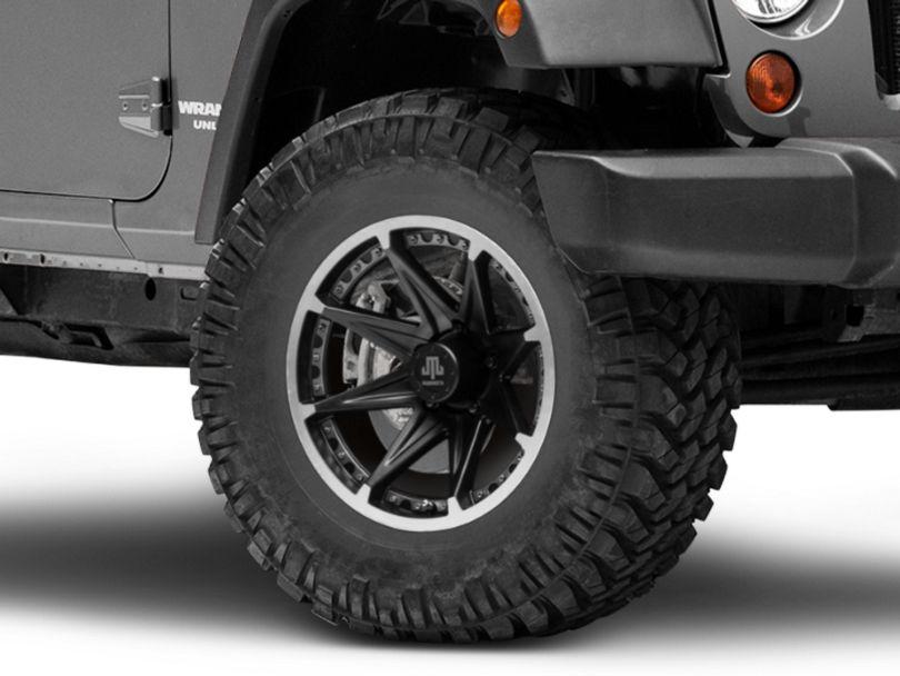 Mammoth Type 88 Black Wheel - 17x9 (07-18 Jeep Wrangler JK)