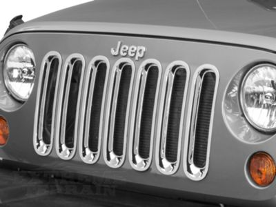 Add RedRock 4x4 Chrome Grille Inserts