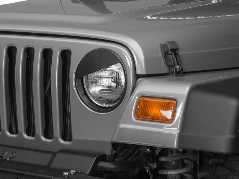 RedRock 4x4 Angry Eyes Headlight Conversion (97-06 Jeep Wrangler TJ)