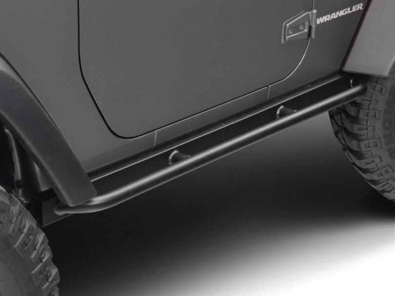 Barricade Enhanced Rubi Rails - Textured Black (07-18 Jeep Wrangler JK 2 Door)