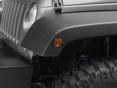 Add Barricade Side Marker Guard - Textured Black (07-17 Wrangler JK)