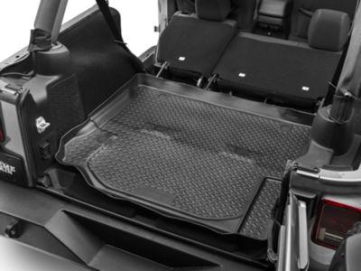 Husky Classic Cargo Liner - Black (11-18 Jeep Wrangler JK 4 Door)