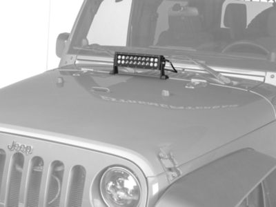 Add KC HiLiTES 10 in. LED Light Bar (87-17 Wrangler YJ, TJ & JK)