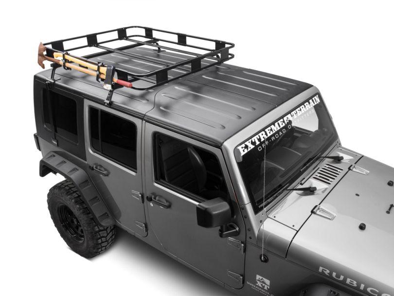 Surco Axe & Shovel Carrier for Safari Rack (87-20 Jeep Wrangler YJ, TJ, JK & JL)