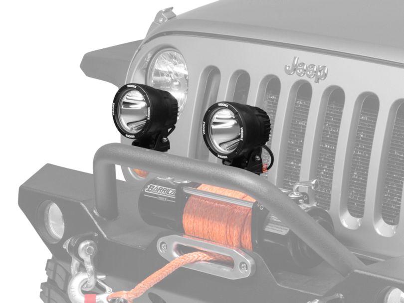 Vision X 4.5 in. LED Cannon - 1,000 ft. Range - Spot Beam - Single