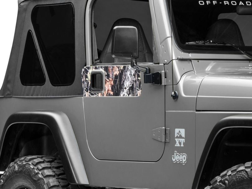 Door Accents - Mossy Oak (97-06 Jeep Wrangler TJ)