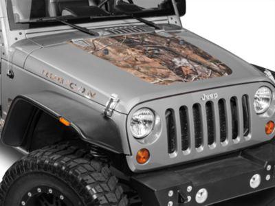 Hood Decal - Real Tree (07-18 Jeep Wrangler JK)