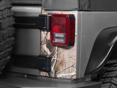 Rear Corner Decal - Real Tree (07-19 Jeep Wrangler JK & JL)