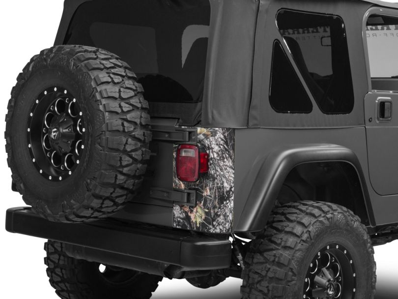 SEC10 Rear Corner Decal - Mossy Oak (97-06 Jeep Wrangler TJ)