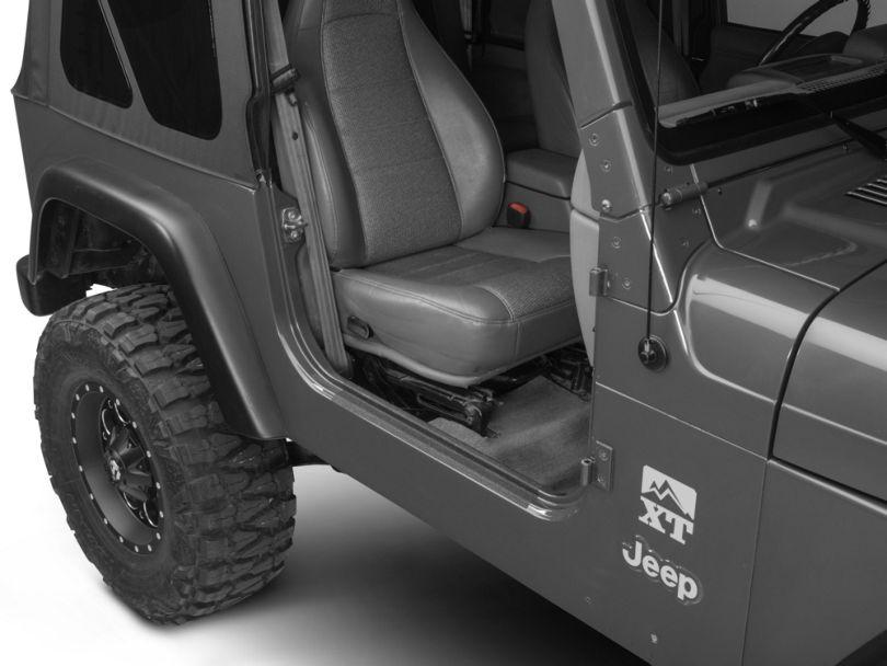 Barricade Door Sill Body Shield Decal (97-06 Jeep Wrangler TJ)