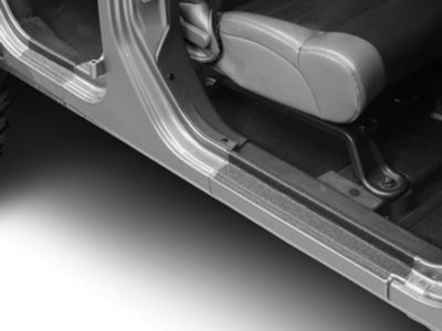 Barricade Door Sill Body Shield Decal (07-18 Jeep Wrangler JK)