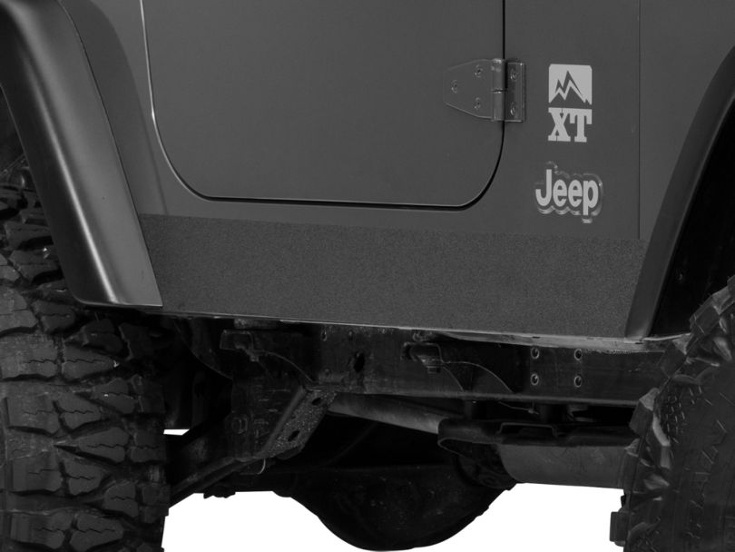 SEC10 Rocker Body Shield Decal (97-06 Jeep Wrangler TJ, Excluding Unlimited)