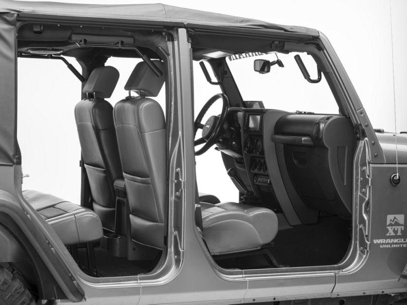 Front & Rear Grab Handles (07-18 Jeep Wrangler JK 4 Door)