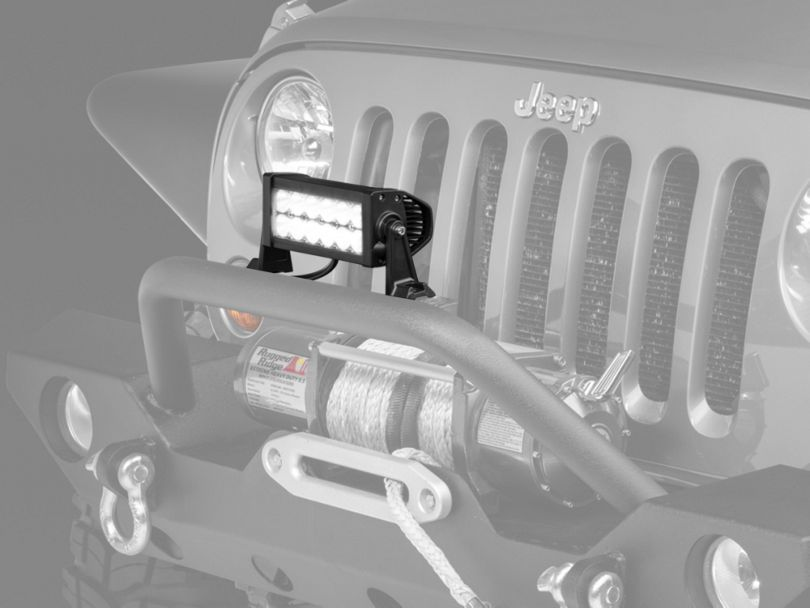 Raxiom 7.5 Inch Double Row LED Light Bar; Flood/Spot Combo