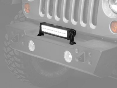 Add Raxiom 13.5 in. Double Row LED Light Bar (87-17 Wrangler YJ, TJ & JK)