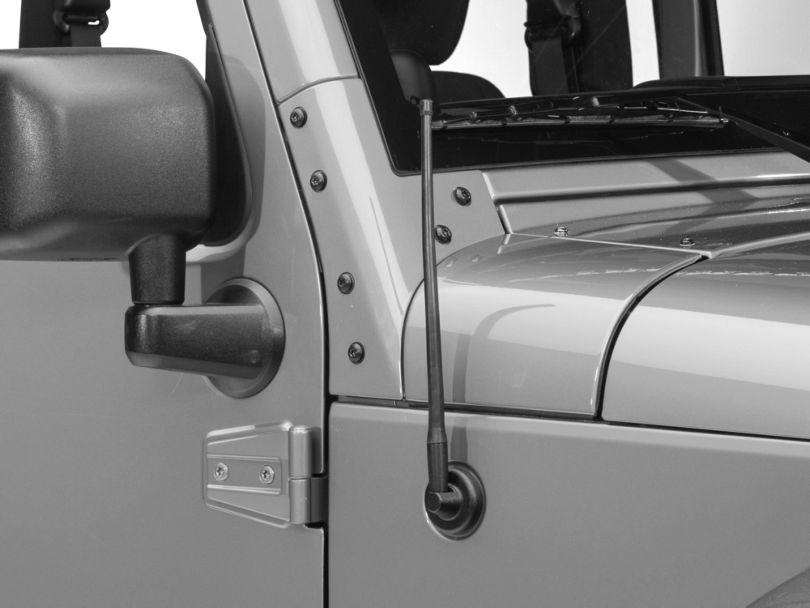 RedRock 4x4 Trail 13 in. Short Antenna (07-18 Jeep Wrangler JK)