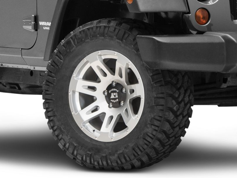 Rugged Ridge XHD Silver Wheel; 18X9 (07-18 Jeep Wrangler JK)