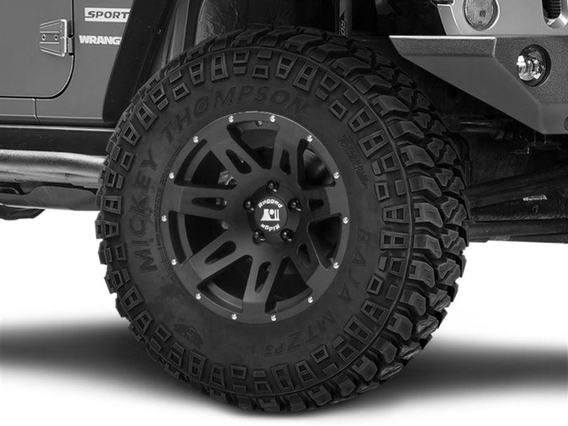 Rugged Ridge XHD Satin Black Wheel; 18x9 (07-18 Jeep Wrangler JK)