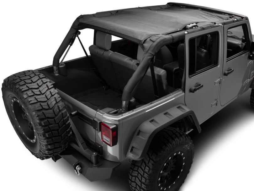 TruShield FullShade Mesh Top (07-18 Jeep Wrangler JK 4 Door)