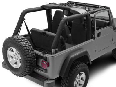TruShield Front Overhead Net (04-06 Jeep Wrangler TJ Unlimited)