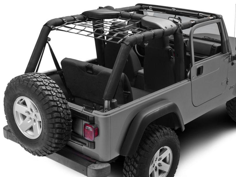 Dark Forest Rear Overhead Net (04-06 Jeep Wrangler TJ Unlimited)