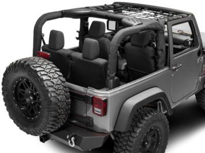 TruShield Front Overhead Net (07-18 Jeep Wrangler JK 2 Door)
