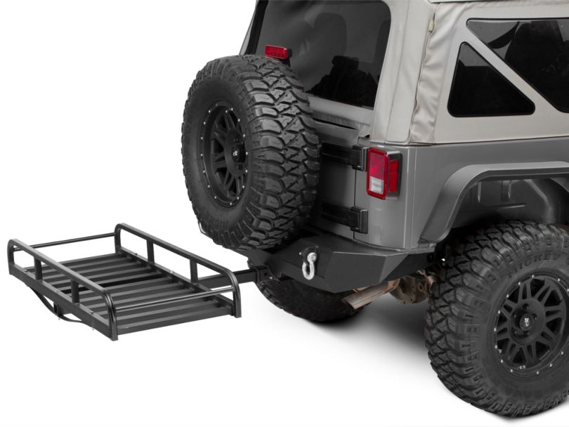 RedRock 4x4 Hitch Mounted Cargo Rack - 7 in. XL (Universal Fitment)