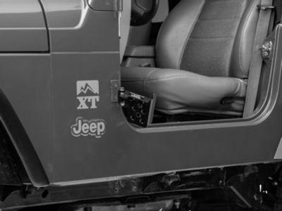 M.O.R.E. Exterior Door Pedal - Drivers Side (97-06 Jeep Wrangler TJ)